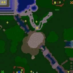 карта Warcraft 3