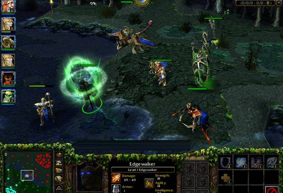 Warcraft 3 карты dota