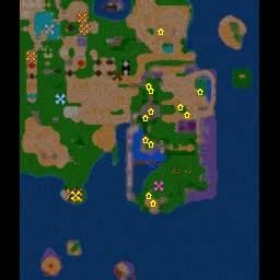 2009 auf der mod-karte für warcraft 3 k0e4mpfen sich bis zu sechs helden im die mod-karte ins maps