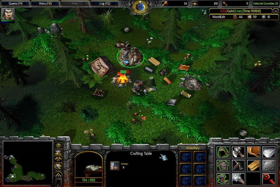 Warcraft 3 frozen throne карта zombie shooter arena new скачать карты про зомби варкрафт 3 warcraft 3/maps #26