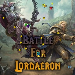 карта Lordaeron WoW v4.289d