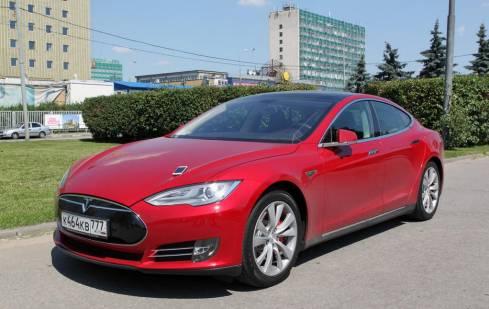 Внешний вид электромобиля Tesla